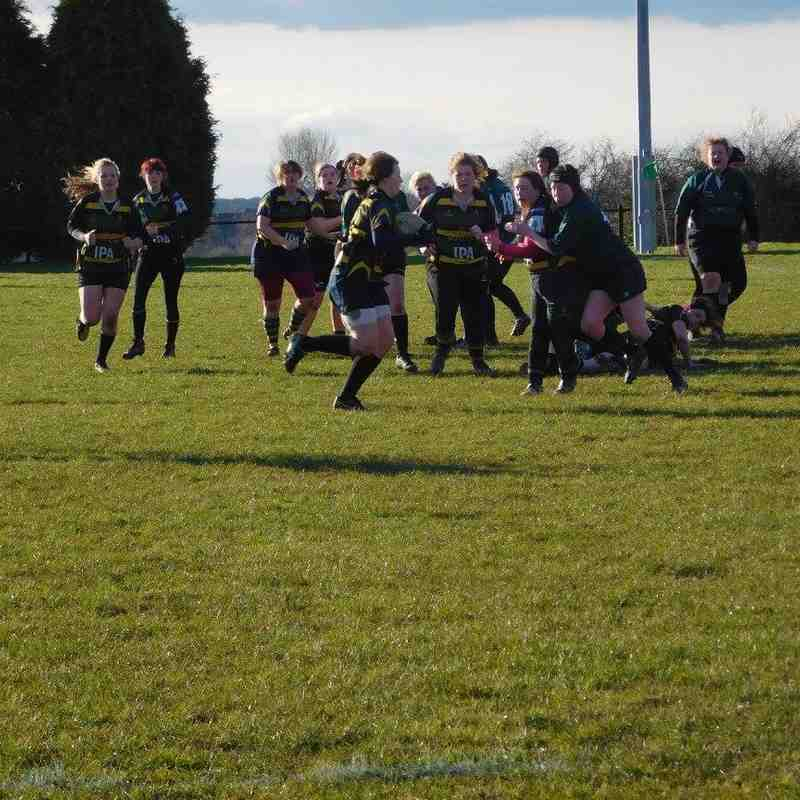 Mellish Ladies vs Scunthorpe - 28.02.2016
