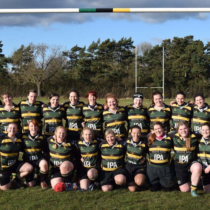 Mellish RFC Ladies beat Lincoln Ladies 10 - 45