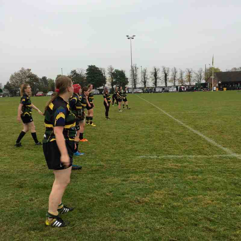 Mellish Ladies vs Scunthorpe 30.10.2106