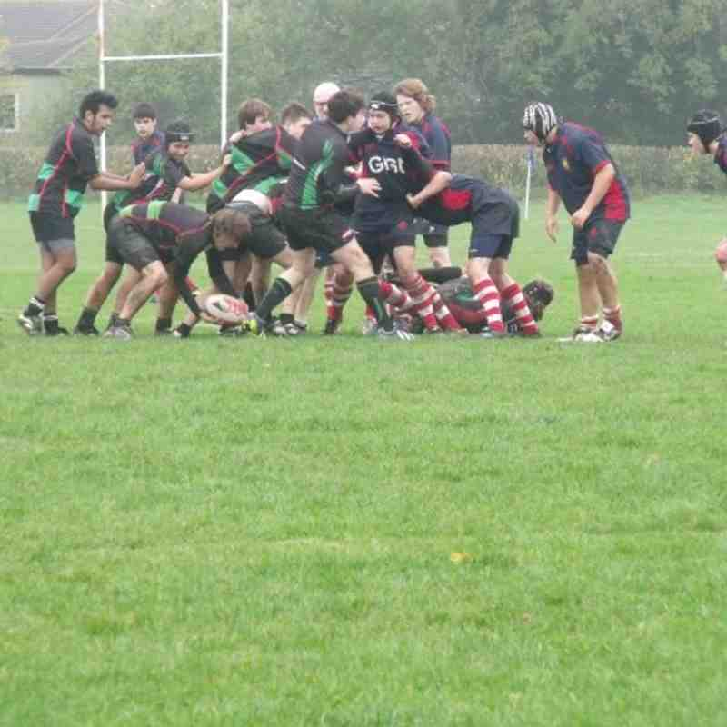 Stowmarket U16/17's v Newmarket U16's
