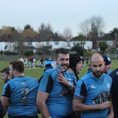 Firsts away win at Old Colfeians