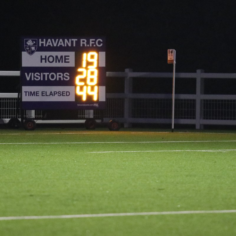 Firsts win local derby at Havant