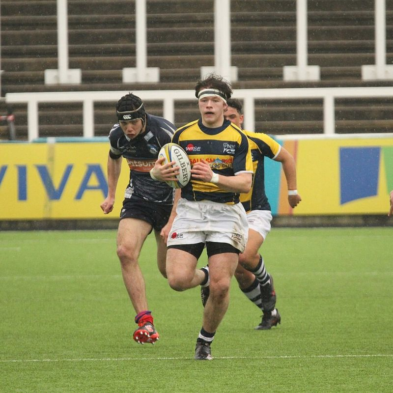 Recognition for Ethan Caine with further selection for Sale Sharks U16 at National Academy Festival