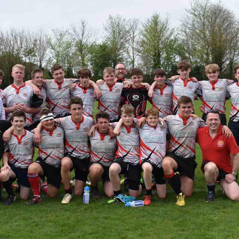 Semi Final Trowbridge  V's U15 at Trowbridge  28-26