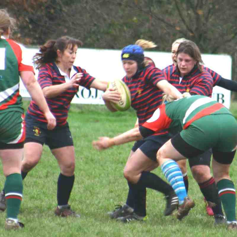 Ladies v Plymouth Albion 14th December 2015