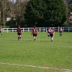 Ladies v Blackheath 17th April 2016