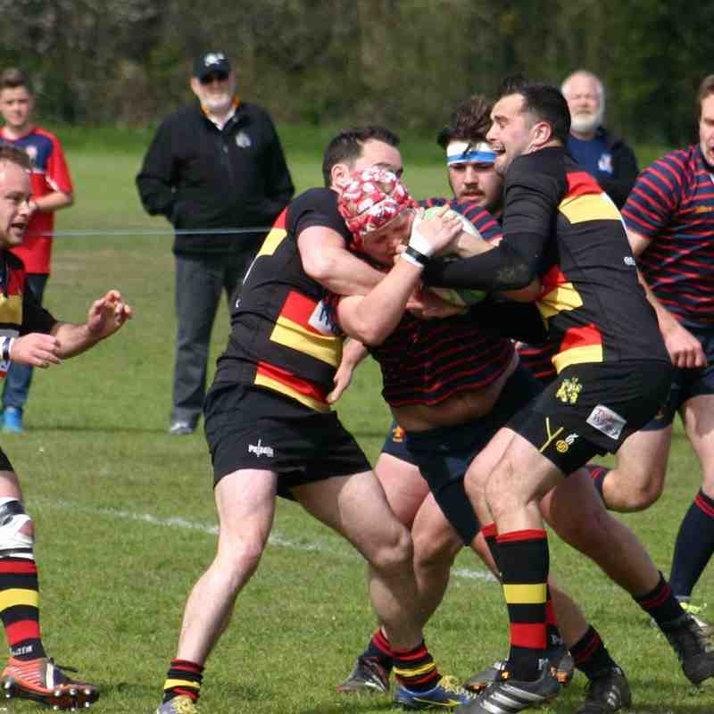 1st v Eastleigh 1st May 2016 Bowl final