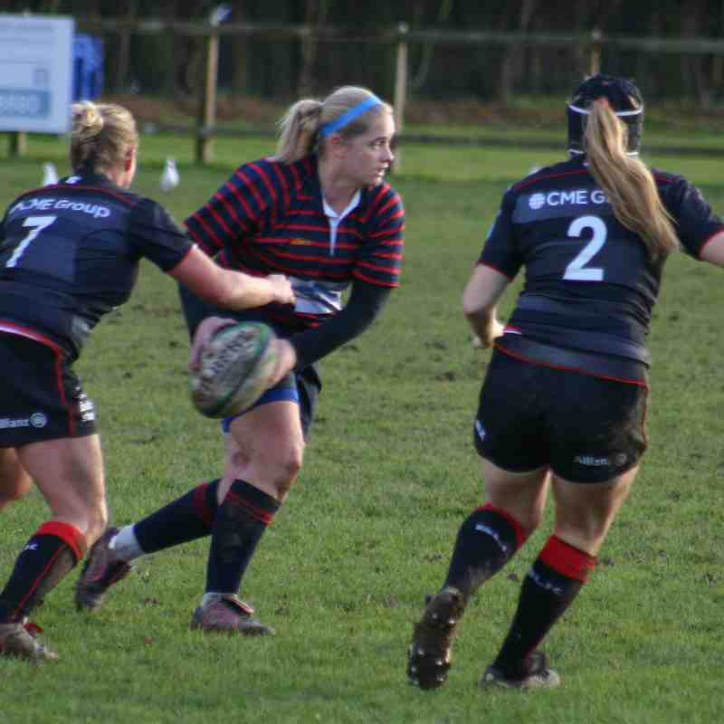 Ladies v Saracens II 11th December 2016