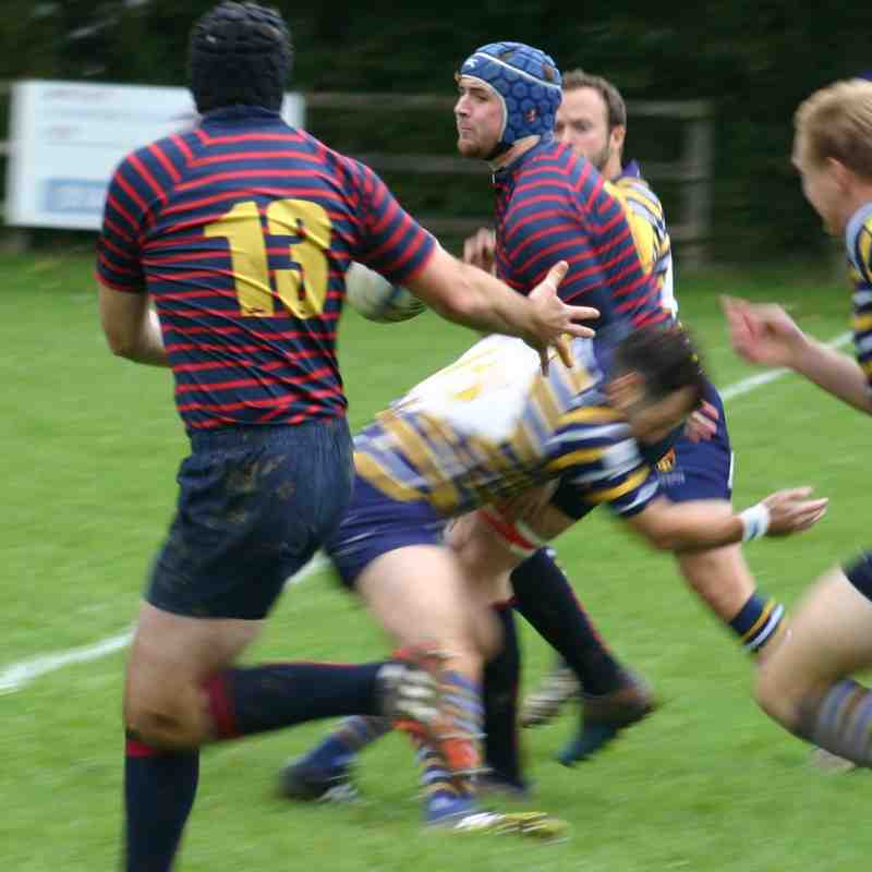 1st v Old Cranleighans 7th October 2017