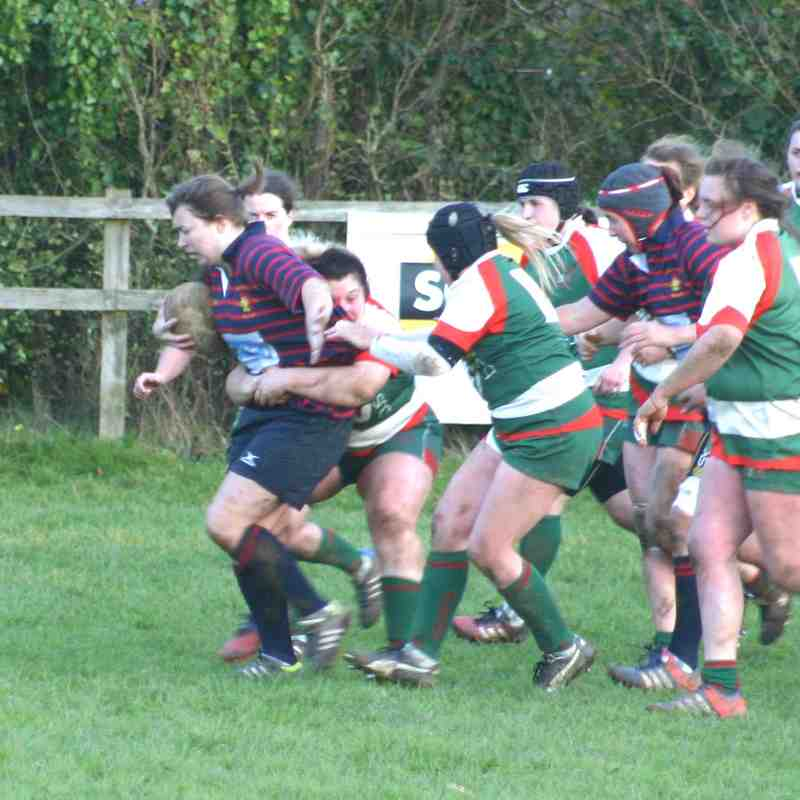 Ladies 1 v Plymouth Albion 5th November 2017