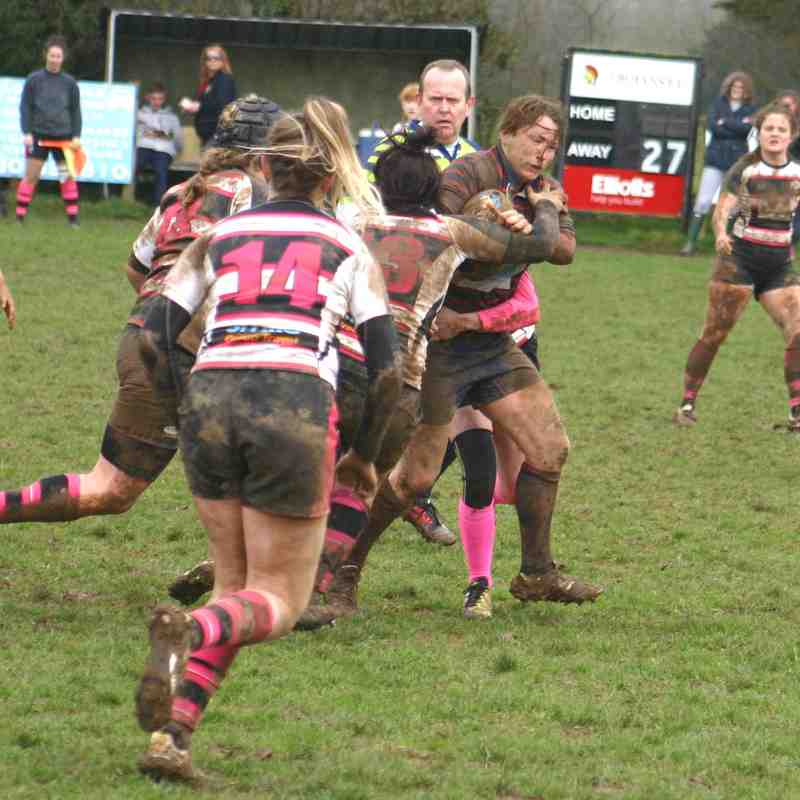 Ladies v Thurrock 8th April 2018