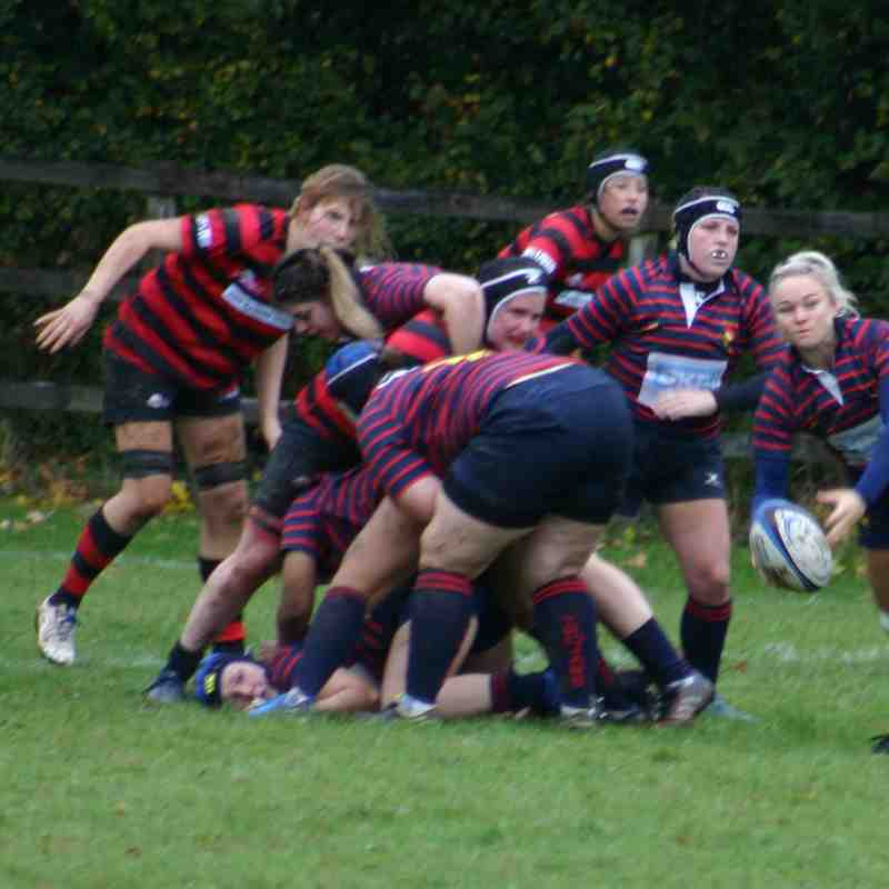 Ladies v Blackheath 14th October 2018