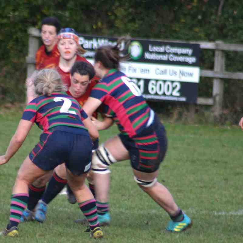 Ladies v Reading Abbey 4th November 2018