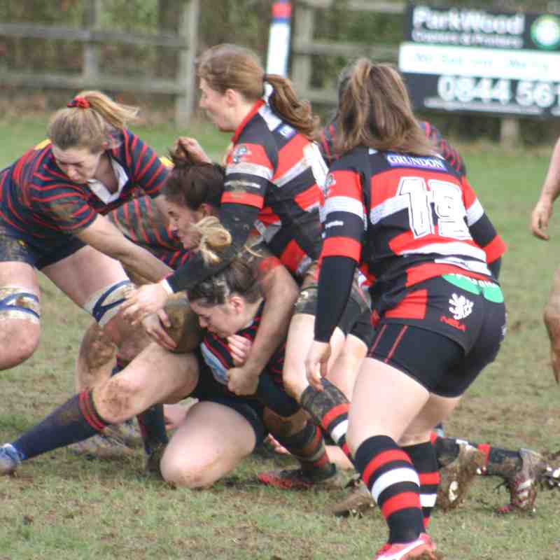 Ladies v Cheltenham 10th February 2019