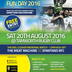 Neil Cleaver Memorial Summer Charity Fun Day 20th August 2016 - On whatever the weather