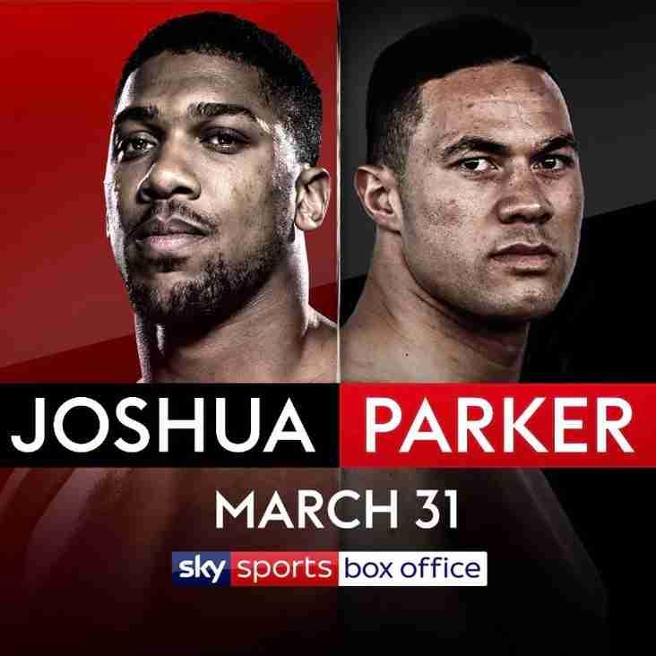 Joshua vs Parker fight live at TRUFC Saturday March 31st