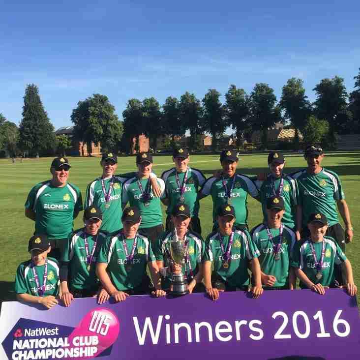 U15 National Bid Ends In Glory