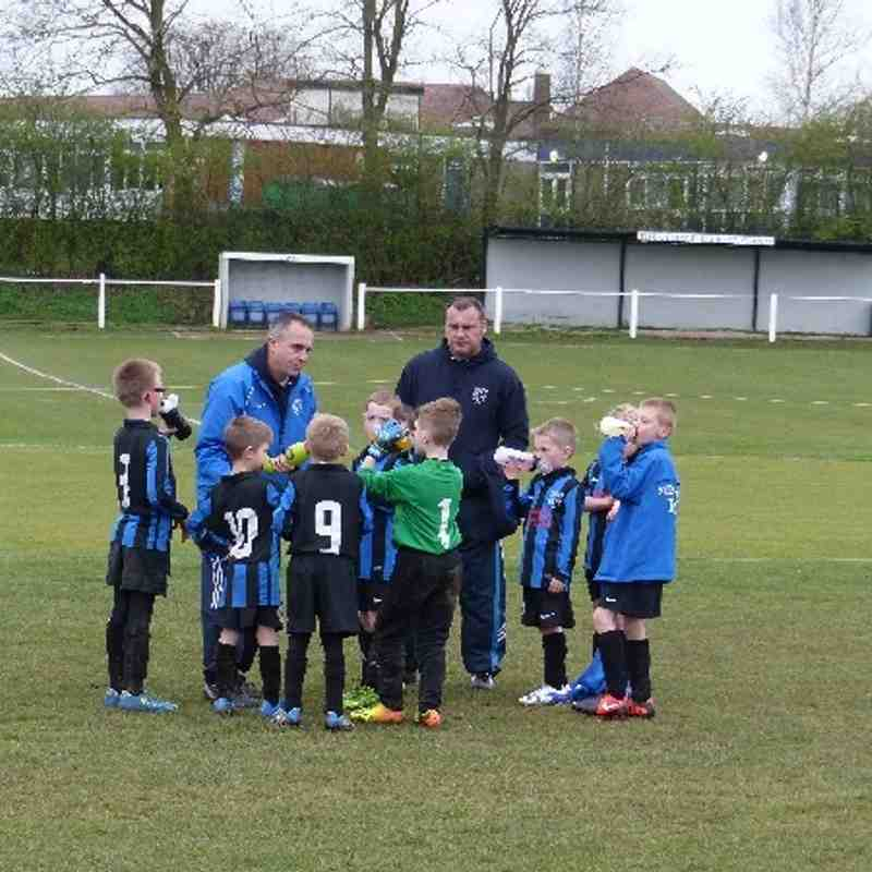 Under 8s 5th April 2014