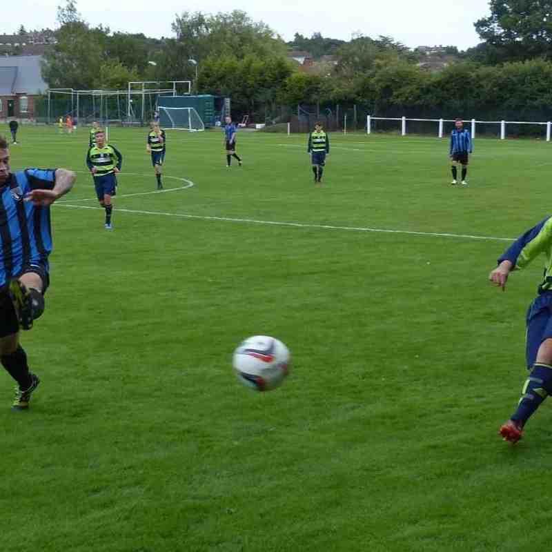 First Team vs Collingham 5th Sept
