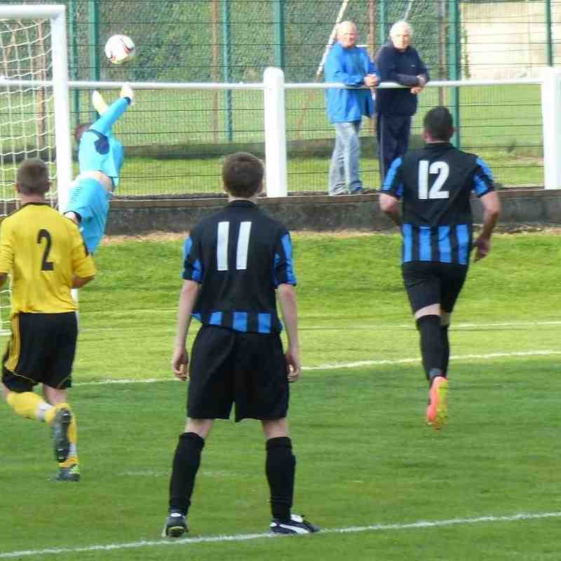 First Team vs Holbrook St Michaels 19th Sept Cup