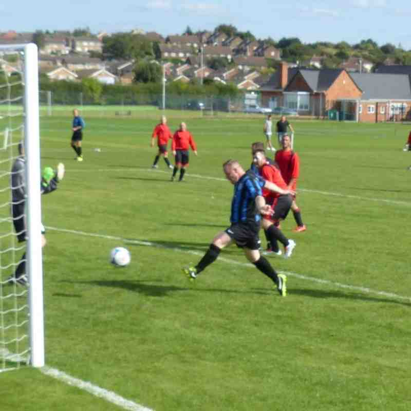 Selston Vets v Shirebrook Vets 18th September 2016