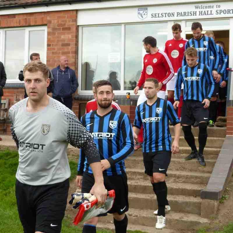 Selston FC v Southwell City FC 8th Oct 2016
