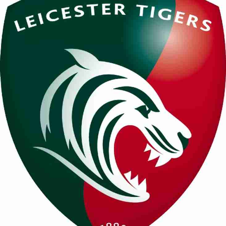 Under 10s get invite from Leicester Tigers to compete in Prima Bowl