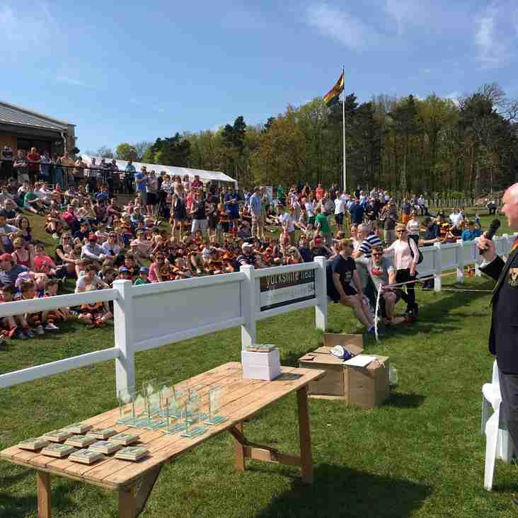 HRUFC Junior Presentation Day 8th May 2016