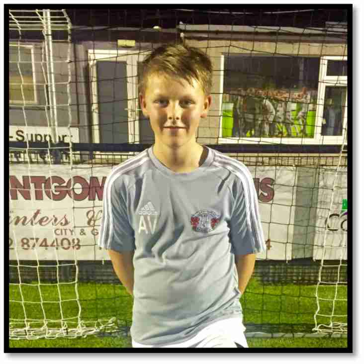 Regional Recognition For U13's Academy Player