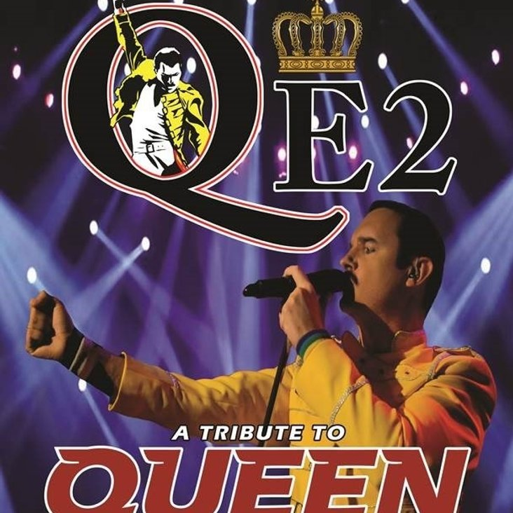 QE2 (Queen Tribute Band) are LIVE at The Cheshire County Sports Club On Saturday 24th September 2016<