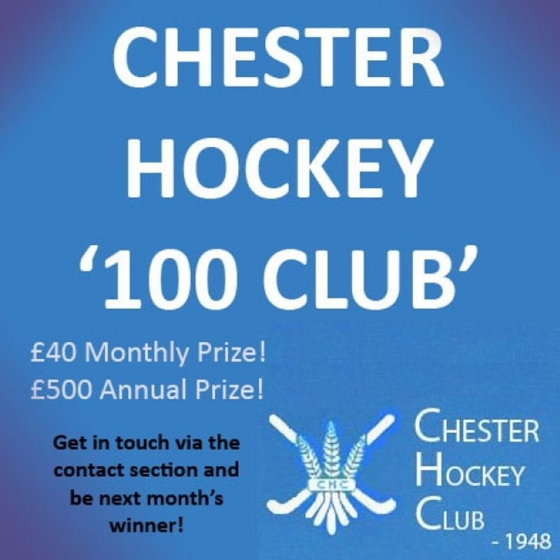 Chester Hockey 100 Club - April, May and June Winners