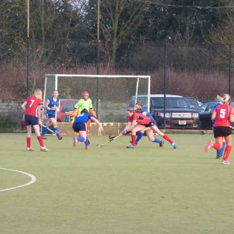 Ladies 2nds Vs Oxton Ladies 1st - 17th December 2016