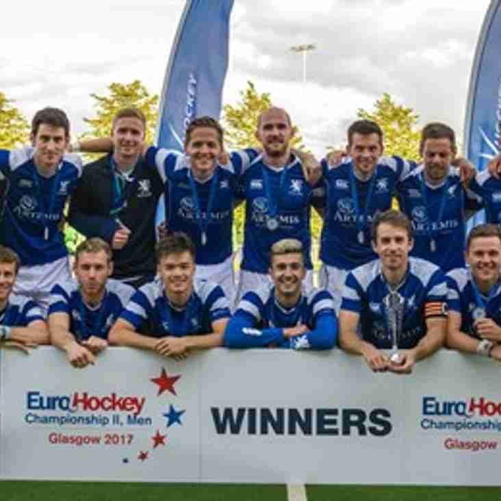 Congratulations to former CHC player Russell Anderson who helped Scotland win the men's eurohockey championships in Glasgow