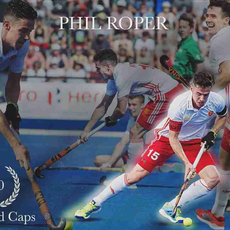 Former CHC Player Phil Roper reaches 50 England Caps