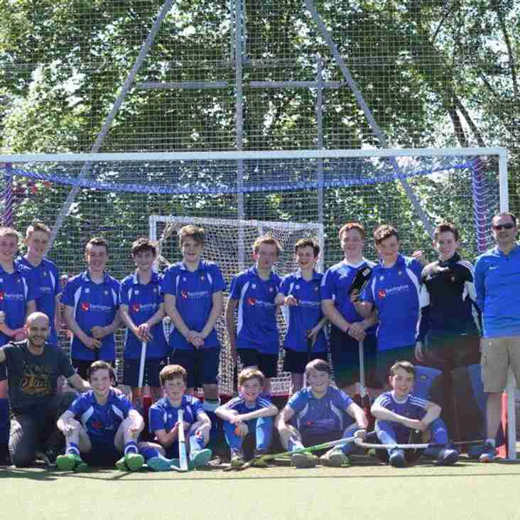 U14 Boys Finish as Runners up in England Hockey Club Championships as Northern Finals