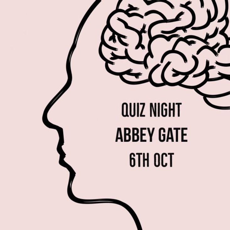 Quiz Night at Abbey Gate College - 6th October <