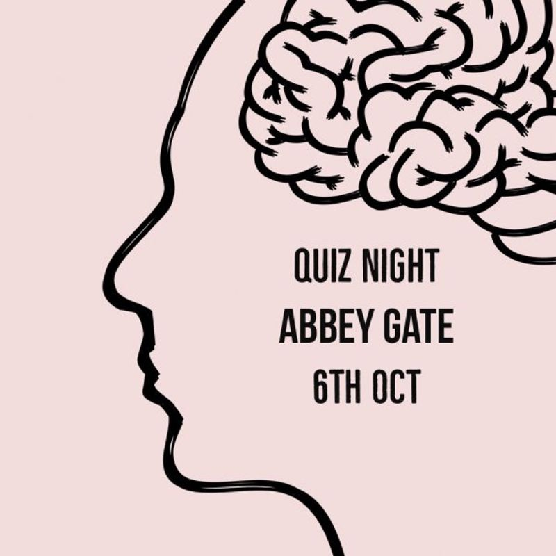 Quiz Night at Abbey Gate College - 6th October