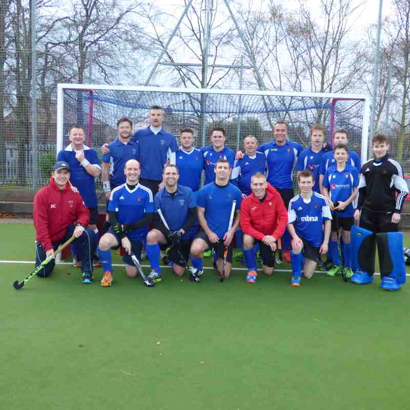 Mens 4s vs Winnington Park Men's 2s - 08-12-18