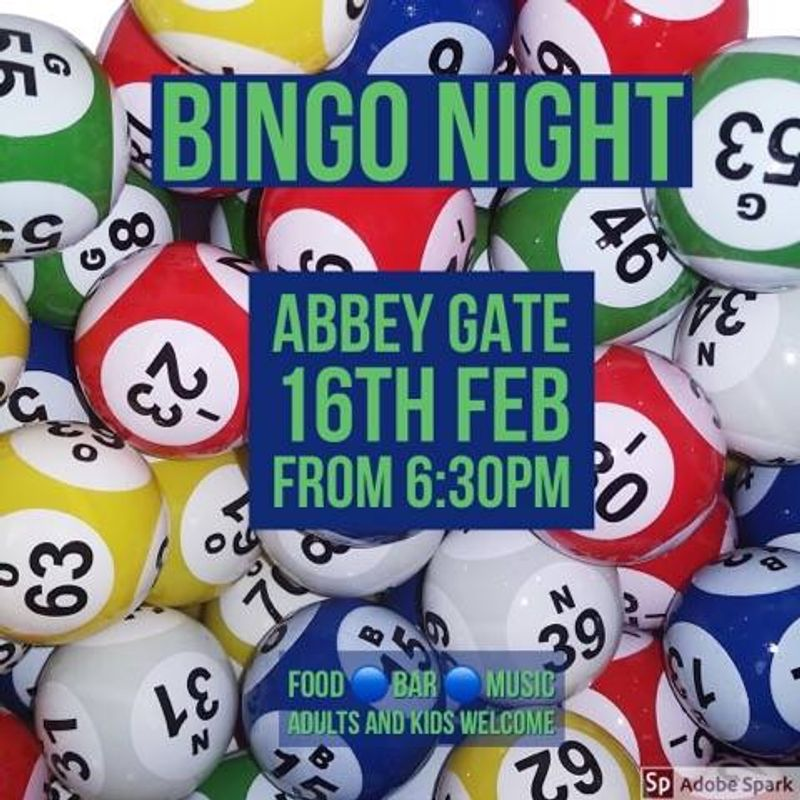 Bingo Night - 16th February
