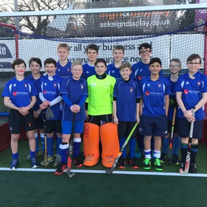Chester U14 Boys win Four from Four