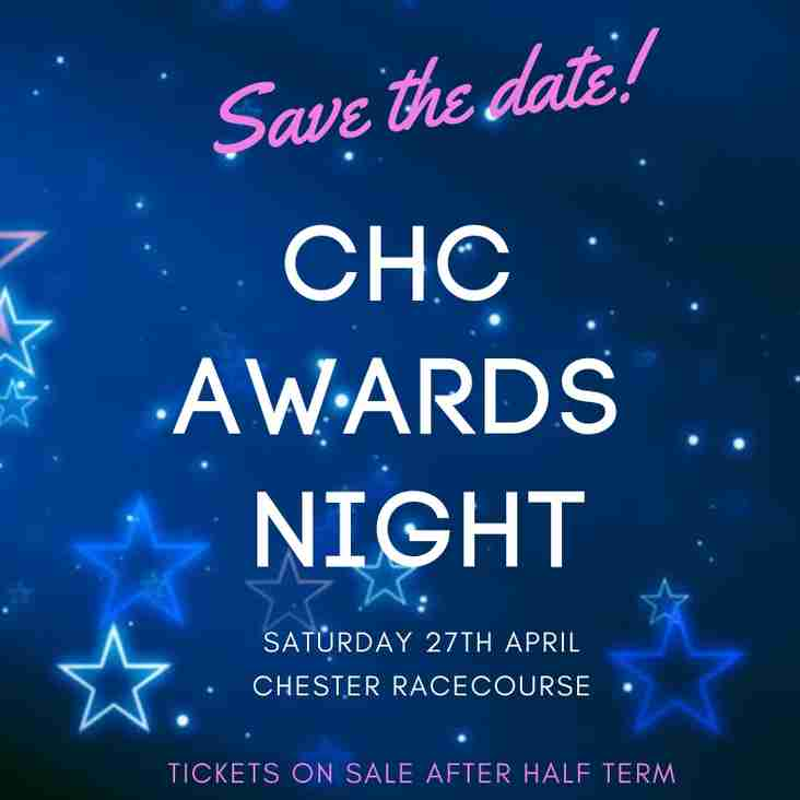 Save the Date for our Awards Night - Saturday 27th April.