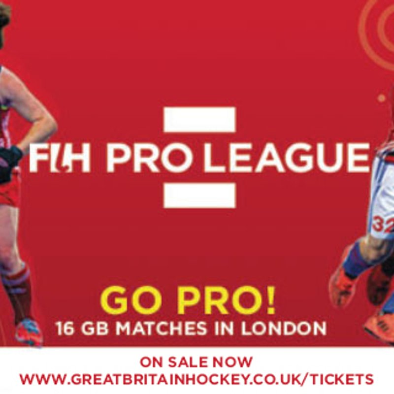 FIH Pro League is in London this weekend