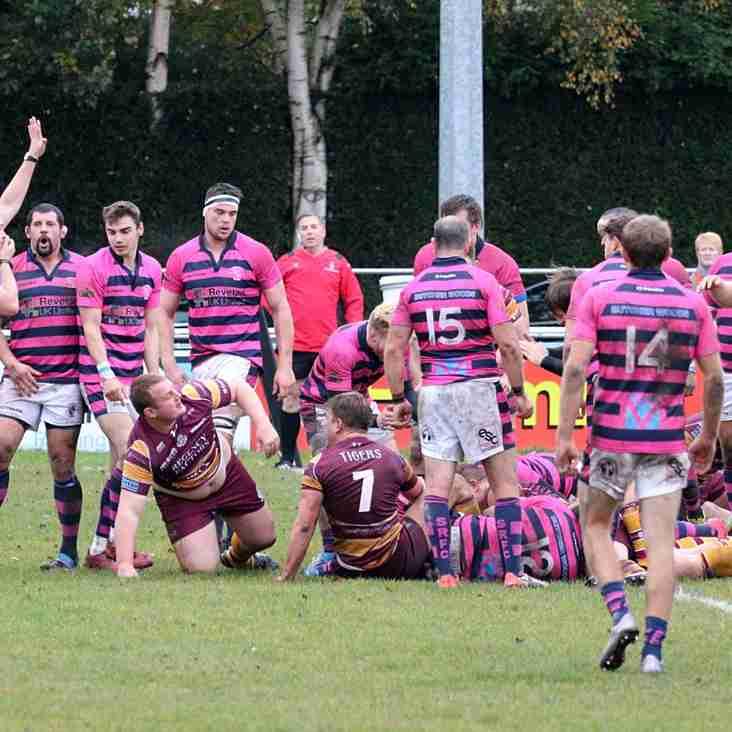 1st XV away at Stourbridge