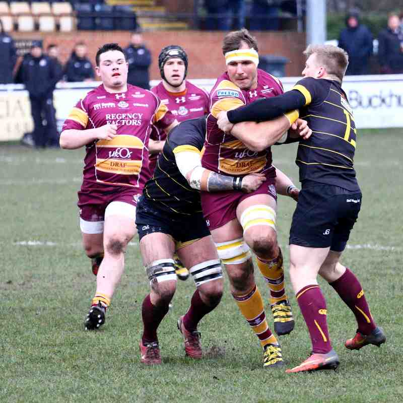Sedgley Park  v  Sheffield  11/2/17