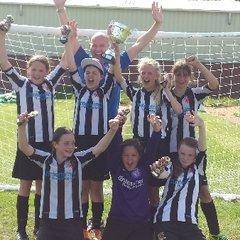 hessle sporting tournament, u12 girls winners