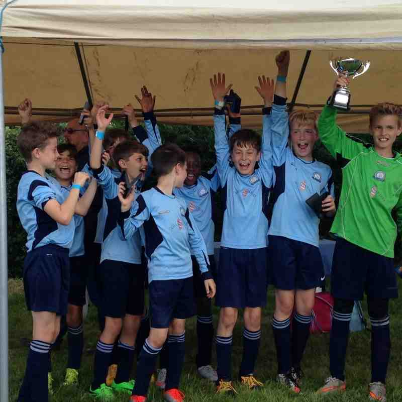 Higham Town U10 9-a-side Tournament 02/07/16