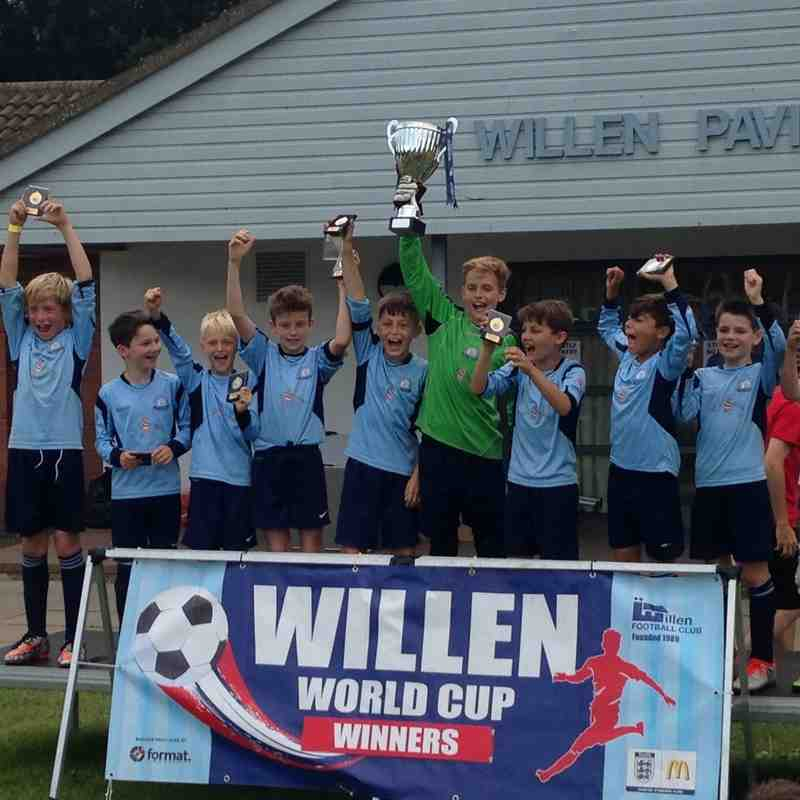 Willen World Cup U10 Tournament 10/07/16