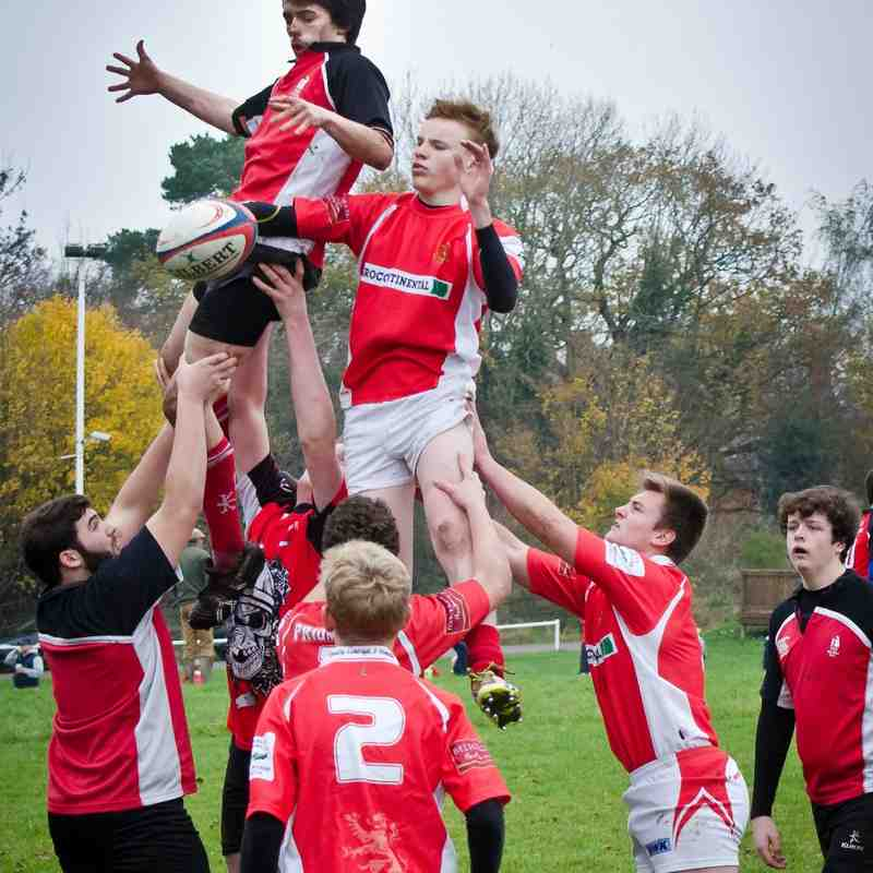 Whutchurch U16s v Walsall Sun 16 Nov 2014
