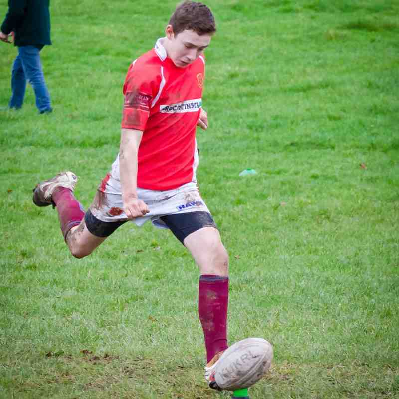Whitchurch U14s v Oswestry Sun 23 Nov 2014
