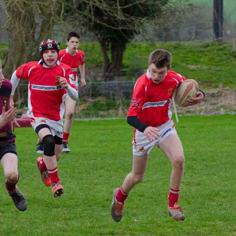 COBRA U14's v Whitchurch U14's 12 April 2015